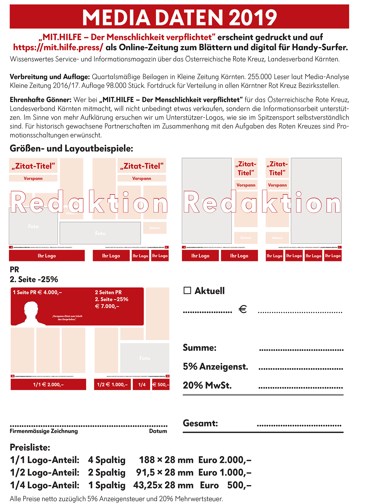 MIT.HILFE | Mediadaten 2019